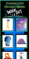 Inside Out-Character Recast by WanderSong