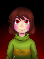 Chara [Portrait] by Jany-chan17