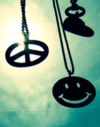 Peace . Love . Happiness by mcbadshoes