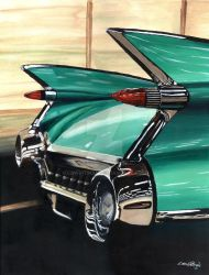 1959 Cadillac by CRWPitman