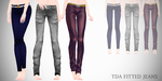 mmd - TDA Fitted jeans [Download] by Creepy-Ru