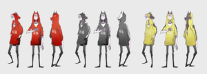 Howling Hoodies by NanoMortis