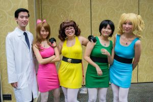 Powerpuff Girls Group - Stealing the Show by Talfryn
