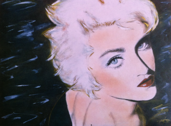 Madonna Make-Up Drawing by SofiaMetaxas