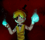 [REDRAW] Human Bill Cipher by CandyAICDraw