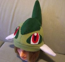Axew hat by PokeMama