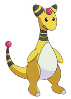 Ampharos by AlphaGuilty