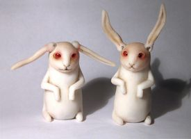 Rabbbits by Gogolle