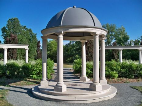 Modern Gazebo (wide) by da-joint-stock