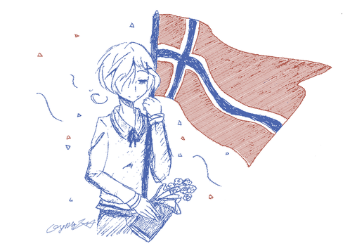 Happy (belated) birthday, Norway by GydroZMaa