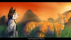 Tallstar and Jake (Warrior Cats) by WarriorCat3042
