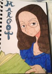 Margot Frank(in color!) by Columbinefree