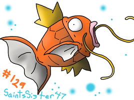 #129 Magikarp by SaintsSister47