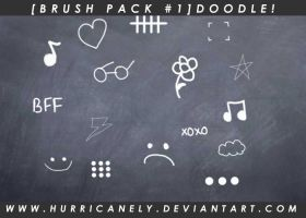 [Brush Pack #1] Doodle! by hurricanely
