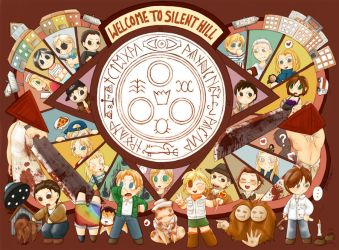 Welcome to Silent Hill by Himoki