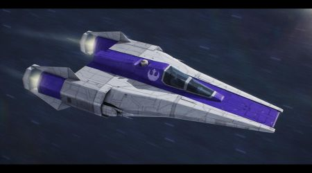 Incom RZ-1 Mark IV Super A-Wing by Shoguneagle