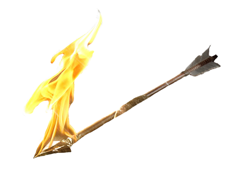Fire Arrow Png by Tekmile