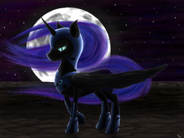 Nightmare Moon by Critzie