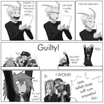 SERVED pg XXIII -  the Verdict by ladychimera