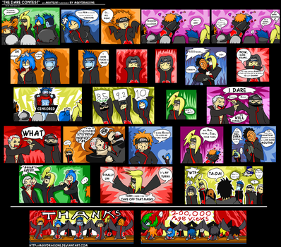 AKATSUKI COMIC ++THANKS 200K+ by MSkyDragons