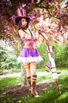 Caitlyn Cosplay (League of Legends) by QTxPie