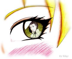 Look into my eye by KikoBuntstift
