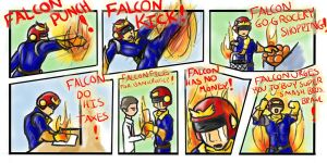 FALCON GO ABOUT HIS DAY by HJSoulma