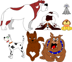 Dogs Icons Pack by NePosas