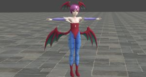 Darkstalkers Lilith For XNALara by user619