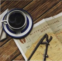Last Coffee in North Africa by dadenko
