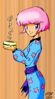 Chris Hart Coloring Page: Soup's On by PeterSFay