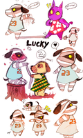 RRRR OWCH :LUCKY : ANIMAL CROSSING: by Bippie