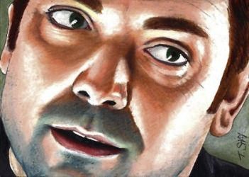 Crowley-the King of Hell sketch by Dr-Horrible