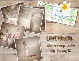 OldMatic Photoshop ATN by mutato-nomine