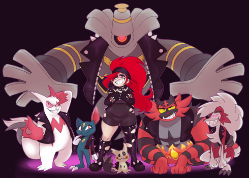Pokemon Trainer Self by ToxicSoul77