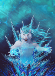 The Ice Weaver by etrii