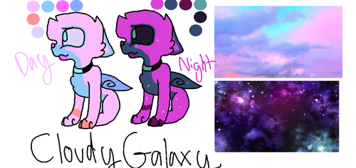 Cloudy Galaxy by Imnotgivingup