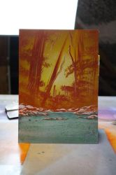 Mini Painting Simple Nature - Photopaper by RiensArtwork