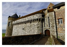 Dieppe castle - 003 by laurentroy