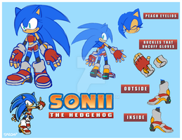 Sonii Reference sheet by SA2OAP