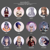 2017 Art Summary by remilet