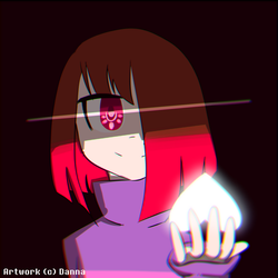 [Glitchtale] Bete Noire by TheKetchupPastel