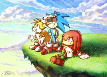 Team Sonic by Suncelia