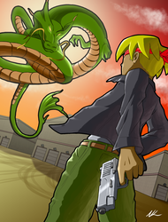 Mexican Dragon Standoff by LCom