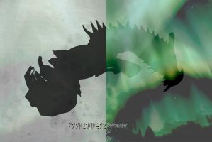 Paarthurnax edit by lucylucycoles