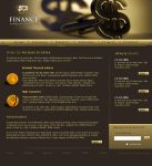 Finance Website by pixelbudah