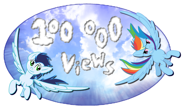 Thank's for 100 000 views by BoomerXBubbles