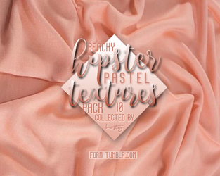 Hipster Peachy Textures Pack By Hasty by hasssty