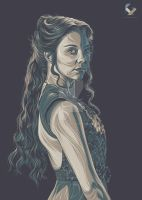 Margaery Tyrell by kyouzins