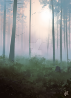 Pastel Forest by incaseyouart